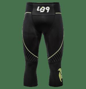 lb9 black and yellow neoprene pant